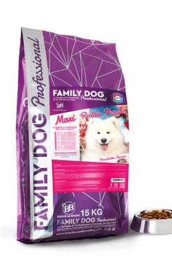 Alimento completo crocchette cibo secco per cani adulti in attività Maxi Pollo Pesce